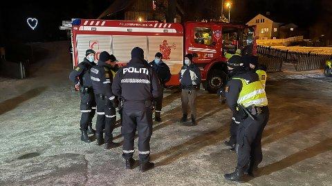 STORE STYRKER RYKKET UT: Alle nødetater rykket ut til Skoklefalltjernet etter at Alva (6) ble meldt savnet.