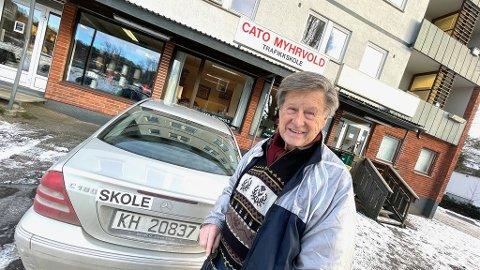 Kjøreskolelærer Cato Myrvold mener Statens vegvesens ikke har god nok kontroll på oppkjøringssystemet.