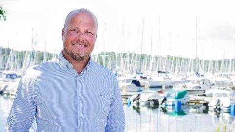 SELGERS MARKED: Ole Martin Larsen i Finn.no sier at det er nå du bør selge båten din om du vil ha sjans til å få mest mulig igjen for den.