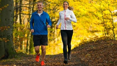 TRENING: Trening blir ikke mindre viktig med årene - og forskning viser at det heller ikke blir vanskeligere å komme i form.