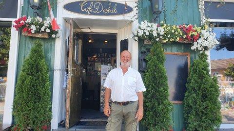 Per Klynderud fra Cafe Drøbak: - VI har verdens beste is