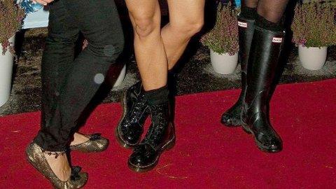 Spesialenhetens rapport forteller ikke hvordan type sko det var som forsvant, men man får anta at de ville kledd den røde løperen. IllustrsjonsFoto: Paul Weaver (Mediehuset Nettavisen)