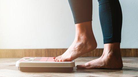 HOLDE VEKTEN: Blir det vanskeligere å holde vekten med årene?