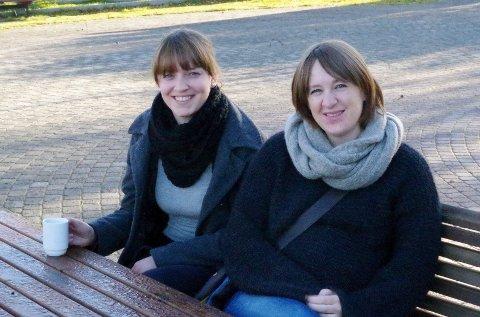 I bresjeb: Eirin Lien, t.v., og Bente Linjordet tok initiativet til Tynset jazzklubb. FOTO: Tonje Hovensjø Løkken