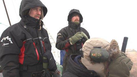 Morten Sæterhaug (t.v.) og Erlend Johannessen, begge fra Folldalen, er aktuelle med dokumentar om selfangst.