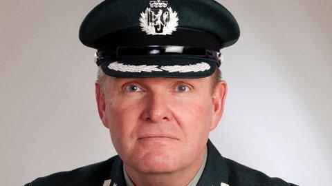 Oberst Håkon Warø Distriktssjef for heimevernet i Trøndelag fylke.