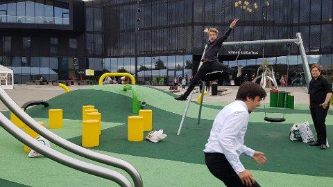FRITID: Festivalen ble avholdt i Kimen kulturhus i Stjørdal.