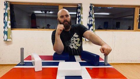 KAMPKLAR: Bjørn Frengstad ønsker velkommen til alle nye medlemmer!