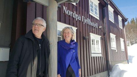 I 15 år har Unni Kristiansen drevet Nordpå Fjellhotell via firmaet UnniK. Ektemannen Gudmund Moen har vært til stor hjelp i både drift og utvikling av stedet.