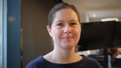 Forsker Gunnveig Grødeland, ekspert på virus fra Universitetet i Oslo, avdeling for immunologi og transfusjonsmedisin. Foto: Trond Lepperød (Nettavisen)