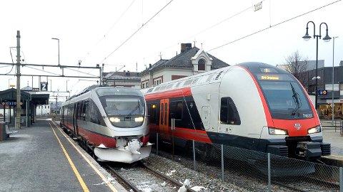 FULL STOPP: Det blir togstans på Rørosbanen og Dovrebanen i helga og i begynnelsen av neste uke.