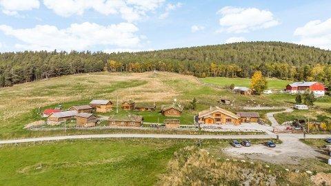 SOLGT: Løkken Fjellgård i Folldal er solgt til en dame fra Trøndelag.