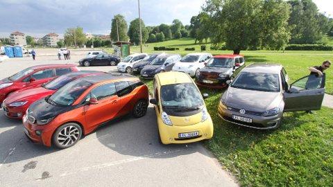 Utvalget av brukte elbiler har etter hvert blitt ganske stort. Dette kan også være smarte bilkjøp. Foto: Norsk Elbilforening.