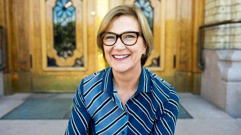 GÅTT BORT: Siv Nordrum fra Ås døde 62 år gammel. Hun har tidligere vært journalist, statssekretær og kommunikasjonssjef.