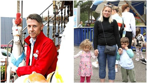 BEKLAGER: Tusenfryd-sjef, Bjørn Håvard Solli, beklager at familien hadde en dårlig opplevelse i parken.