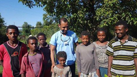 ETIOPIA: Det første oppdraget for Tannhelse uten grenser er i Etiopia, Kassahuns fødeland.