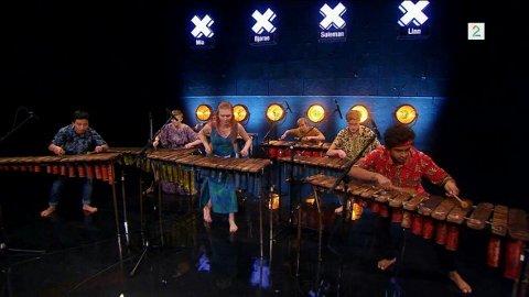 KONKURRANSE: Gruppen spiller på Norske Talenter. FOTO: TV2