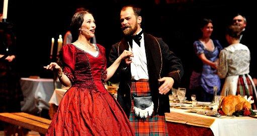 Fortsetter i rollene: Yngvild Støen Grotmol og Torgeir Reiten blir å se på scenen som henholdsvis Barbara Arbuthnott og William Arbuthnott til sommeren.