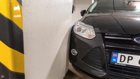De aller fleste unnlater å melde fra hvis de kommer borti en annens bil. Foto: Gorm Kallestad, NTB scanpix/ANB