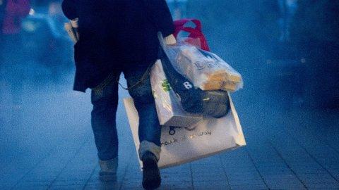 Det lønner seg å planlegge godt før du drar på Black Friday-handel. Foto: Jon Olav Nesvold, NTB scanpix/ANB