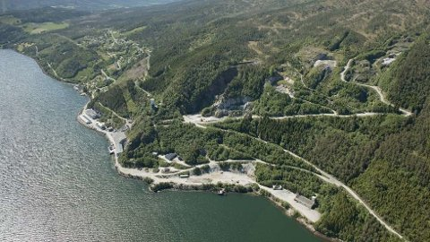 Raudsand i Nesset kommune.
