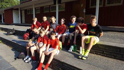 Sunndal gutter 16s førstelag .