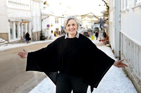 ØNSKER FLERE MED: Aud Thoresen Røed ser gjerne at flere blir med «Tjukkasgjengen» å gå tur på torsdager.