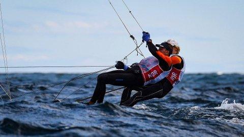SJETTEPLASS: Mads og Tomas Mathisen endte 18 poeng bak bronseplass.