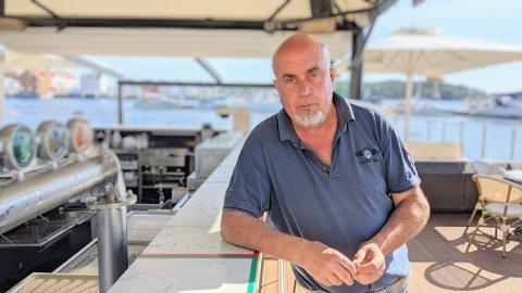 Terje Henriksen er frustrert over hvor mye av ansvaret med smittevern utelivsbransjen må bære.