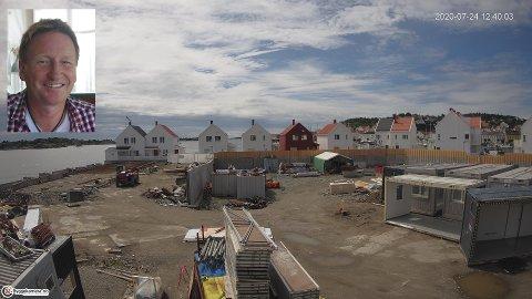 Styreleder Bent Ingerø-Ahlsen i haldenfirmaet GDX AS som har levert kamerasystemet på Holmen kan fortelle at de har 200 kameraer utplassert i hele landet.