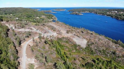 NYTT NAVN: Dette området, hvor det kommer 28 hytter, heter Kallerberget, er den klare tilbakemeldingen fra Språkrådet.