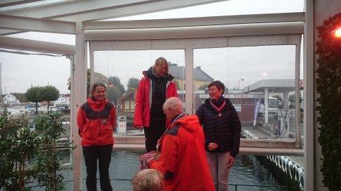 Dameklassen ble vunnet av Randi Nygaard fra Oslo kajakklubb på tiden 1:13:12, med Bente Solberg (BSI) og Astrid Arnesen (Oslo kajakklubb) på de neste plassene.