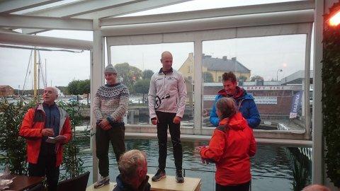Raskest av herrene var Gleb Greben med tiden 55:42, etterfulgt av Mads Grov og Anders Winther Andersen. Alle fra Oslo kajakklubb.