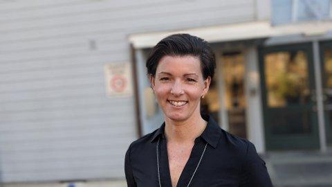 FORNØYD: Organisasjonssjef i Risør kommune, Benedicte Tynes.