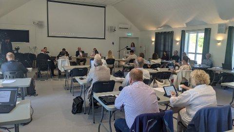 BREDT FLERTALL: Bystyrets overveldende flertall sa i dag ja til ny Risørvei fra Vinterkjær til Dørsdal.