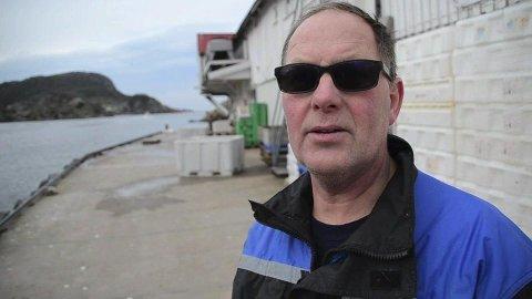 KONTAKTET FISKERIMINISTEREN: Alf Ulland og andre fiskere kontaktet fiskeriministeren med spørsmål om å åpne for fisking av juletorsk.