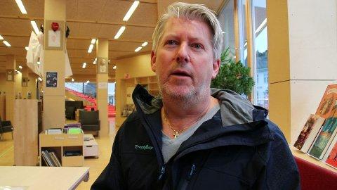SKUFFET OG FRUSTRERT: Glenn Tønnessen legger ikke skjul på at han er skuffet og frustrert over at mulighetene glapp for at Flekkefjord skulle kunne bli en prøvekommune for statlig finansiering av omsorgstjenesten.