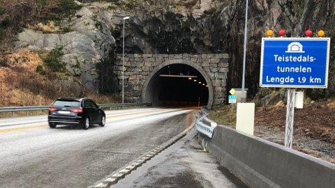 FORBLIR STENGT: Tunnelene på E39 forblir stengt stengt, men noen unntak er på plass.