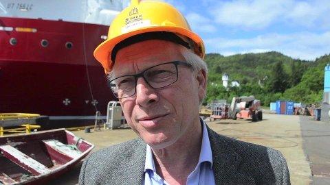 LANG ERFARING: Øyvind Iversen har lang erfaring og mange kontakter i næringslivet fra sine mange år som direktør for Simek i Flekkefjord og leder av industriforeningen. Nå står han som søker på næringsstillinger både i Kvinesdal og Sirdal.
