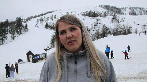SKUFFET: May Tone Josdal er skuffet over at Knaben Alpinsenter fikk mer støtte, og føler det er feil siden det er en direkte konkurrent.