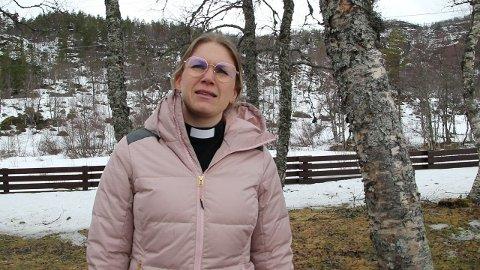 Påskepresten Anne Margrethe Ree Sunde forteller om hva som skjedde på Skjærtorsdag..