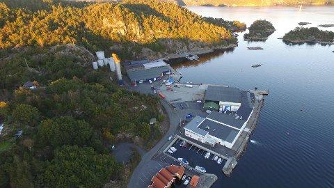INNTAK AV SALTVANN: Kystverket er positive til at det skal kunne etableres et saltvannsinntak for en utviklingsavdeling for nye firma på Abelnes.