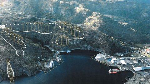 STORE PLANER: Selskapet Kvina Energy Park lanserer planer for et storskala produksjonsanlegg for hydrogen i Kvinesdal.