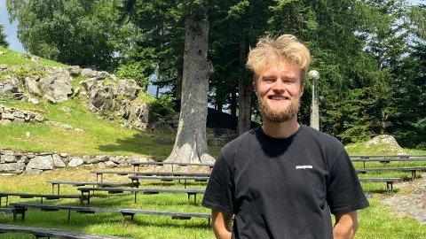 FESTIVALSJEF: Simen Røssland Berrefjord tror at årets festival blir en suksess til tross for utfordringene det siste året.