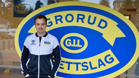 SUKSESSTRENEREN: Eirik Kjønø og Grorud tok OBOS-ligaen med storm, men forbereder seg på en intens sesonginnspurt.