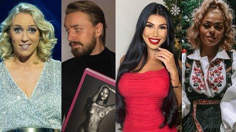 GAVEDRYSS: Etter Instagram å dømme fikk kjendisene alt de ønsket seg til jul.