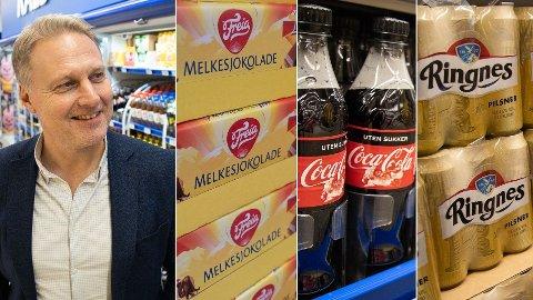 AVGIFTSLETTE: Administrerende direktør Trond Bentestuen i Rema Norge lover at avgiftskuttene skal komme kundene til gode.
