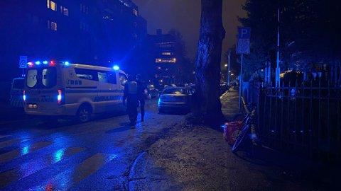 Et sykkelbud er truffet av en bil i krysset Tidemands gate/ Magnus Bergs gate.
