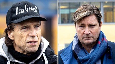 Jan Bøhler (t. v.) fra Senterpartiet er rykende uenig med Frps Christian Tybring-Gjedde. Bøhler mener blant annet at det er for diffust hva Frp og regjeringspartiene vil gjøre for å bekjempe gjengkriminelle.