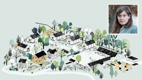 TENKER NYTT OM Å BO: Arkitekt Marie Hallandvik Hortemo (34) ønsker å bo på en annen og mer miljøvennlig måte i fremtiden. Derfor planlegger hun en helt spesiell økogrend.